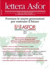 Lettera ASFOR 2011 N. 1-2