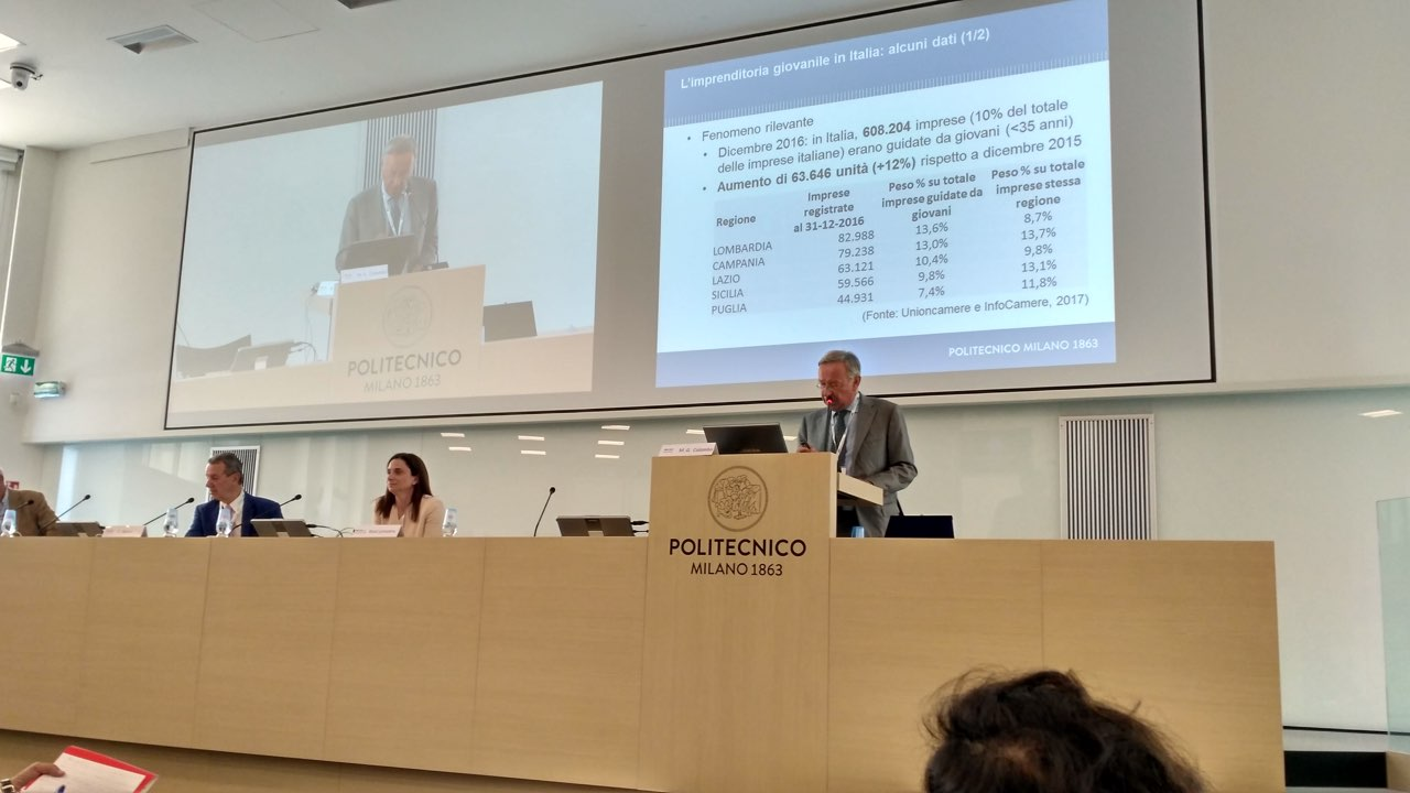 Massimo Gaetano Colombo, deputy director for research and rankings Politecnico di Milano School of Management