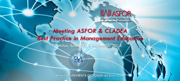 Meeting ASFOR & CLADEA - 6 September 2014