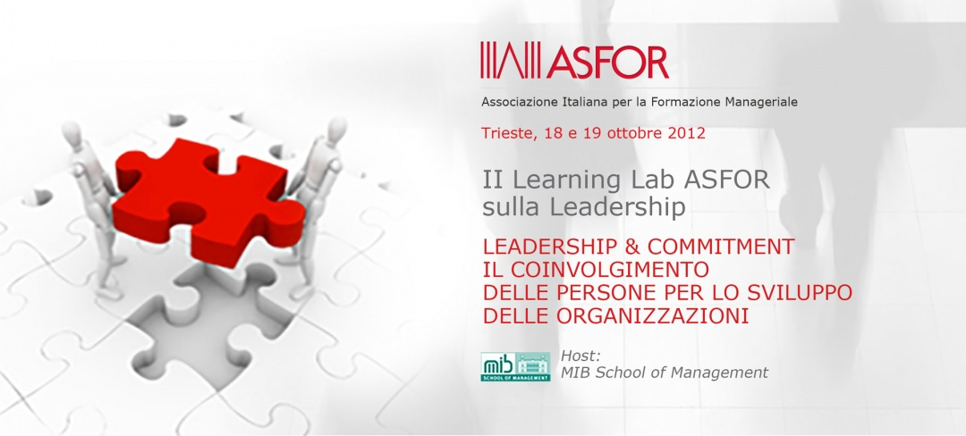 II Learning Lab ASFOR sulla Leadership